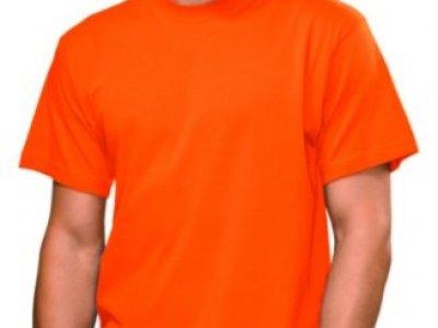 T-shirt Stedman kolor pomarańczowy