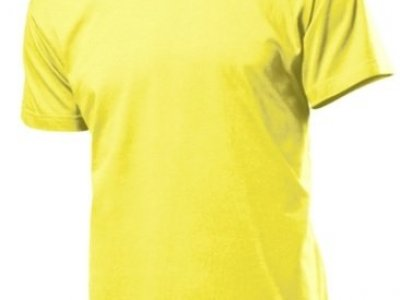 T-shirt Stedman kolor żółty