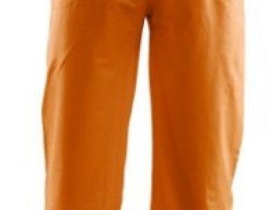 Spodnie przeciwdeszczowe z pasami odblaskowymi