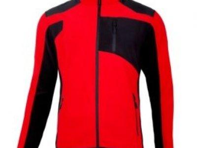 Bluza polarowa Lahti Pro czerwono/czarna L4011505