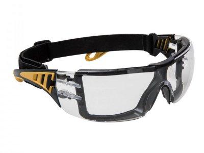 PS09 - Okulary, gogle Tech Przezroczyste