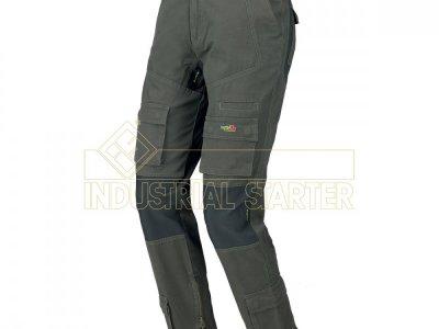 Spodnie ISSA 8738 STRETCH ON szare