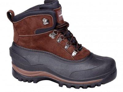 LAHTI PRO Śniegowce buty zimowe zamszowe L3080439