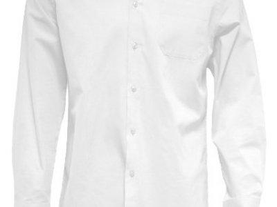 Koszula męska z długim rękawem biała