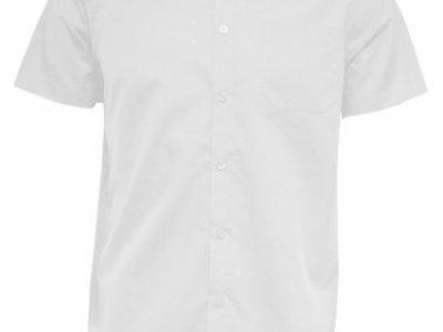Koszula męska z krótkim rękawem biała