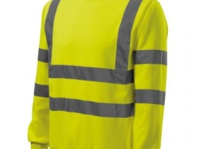 Bluza Essential ostrzegawcza żółta