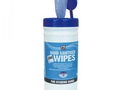 Chusteczki do dezynfekcji rąk (200 szt.) Niebieski IW40