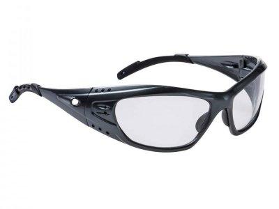 PS06 - Okulary sportowe Paris Przezroczysty