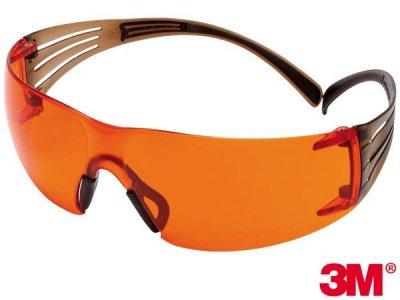 Okulary ochronne SecureFit™ 406 z powłoką Scotchgard™ 3M-OO-SF406 P UNI.