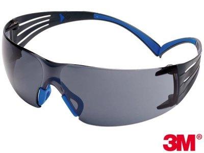 Okulary ochronne SecureFit™ 407 z powłoką Scotchgard™ 3M-OO-SF407 S UNI
