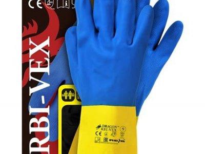 RĘKAWICE GUMOWE RBI-VEX 7-10