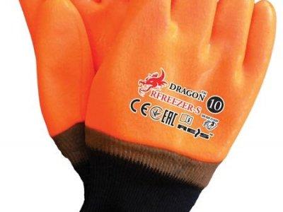 Rękawice ochronne ocieplane powlekane PCV RFREEZER 10