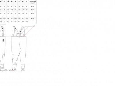 SPODNIOBUTY MAX S5 FLUORESCENCYJNE Model: SBM01 FLUO PROS 3
