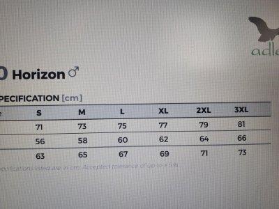 Polar męski HORIZON 520 kolor ciemny khaki (67) 2