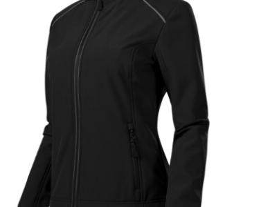 Softshell kurtka damska VALLEY 537 kolor czarny (01)