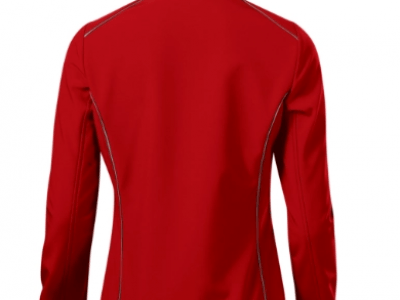 Softshell kurtka damska VALLEY 537 kolor czerwony (07) 3