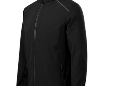 Softshell kurtka męska VALLEY536 kolor czarny (01)