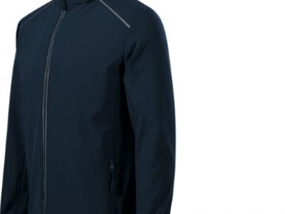 Softshell kurtka męska VALLEY536 kolor granatowy (02)