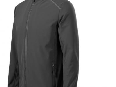 Softshell kurtka męska VALLEY536 kolor stalowy (36)