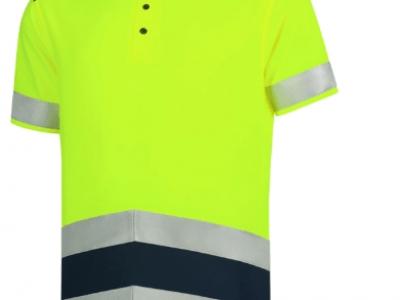 Koszulka polo unisex POLOSHIRT HIGH VIS BICOLORT20 kolor fluorescencyjny żółty (97)