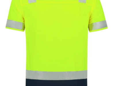 Koszulka polo unisex POLOSHIRT HIGH VIS BICOLORT20 kolor fluorescencyjny żółty (97) 1