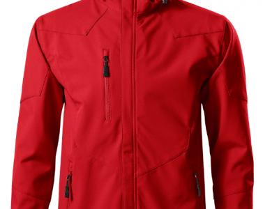 Softshell kurtka męska NANO 531 kolor czerwony (07)