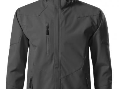 Softshell kurtka męska NANO 531 kolor stalowy (36)