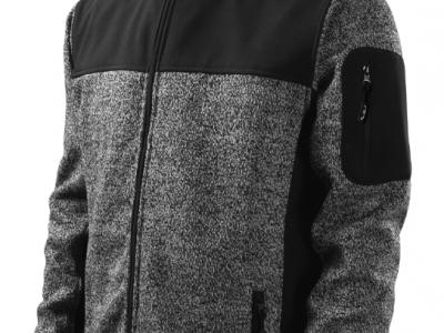 Softshell kurtka męska CASUAL 550 kolor knit gray (80)