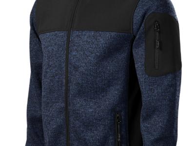 Softshell kurtka męska CASUAL 550 kolor knit blue (84)