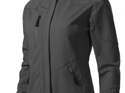Softshell kurtka damska NANO 532 kolor stalowy (36)