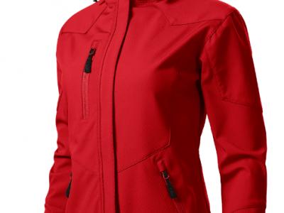 Softshell kurtka damska NANO 532 kolor czerwony (07)