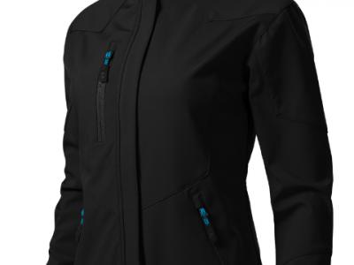 Softshell kurtka damska NANO 532 kolor czarny (01)