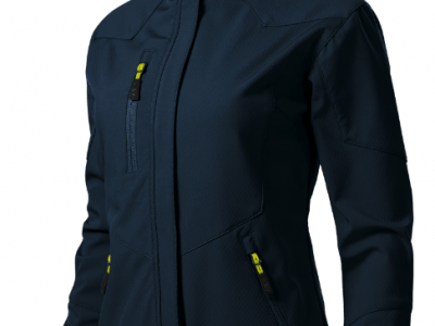 Softshell kurtka damska NANO 532 kolor granatowy (02)