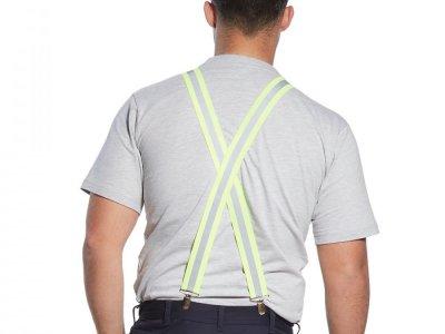Szelki do spodni w kolorze ostrzegawczym Żółty HV56