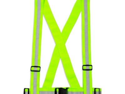 Szelki Gumowe Dla Dorosłych - Kolor Żółty - Typ SG-024