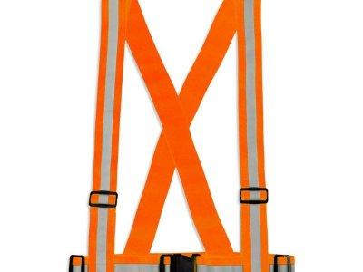 Szelki Gumowe Dla Dorosłych - Kolor pomarańczowy - Typ SG-024