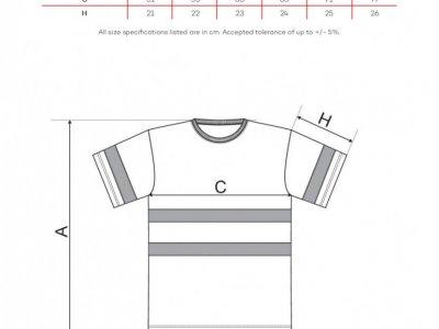 Koszulka ostrzegawcza HV PROTECT1V9 POMARAŃCZOWA S-XXL 1