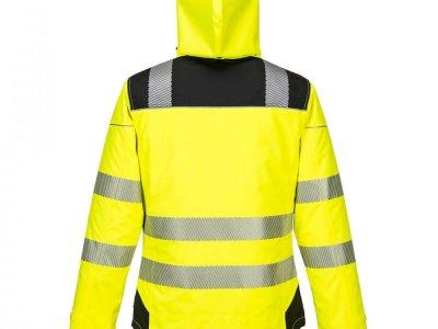 Kurtka ostrzegawcza zimowa PW3 Żółty/Czarny T400 2