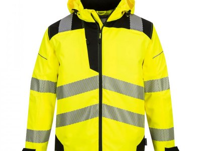 Extreme Breathable Rain Jacket KURTKA Żółty/Czarny PW360 PW3