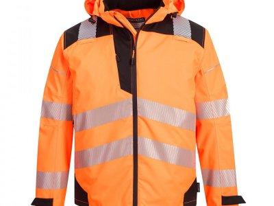 Extreme Breathable Rain Jacket KURTKA Pomarańcz/Czarny PW360 - PW3